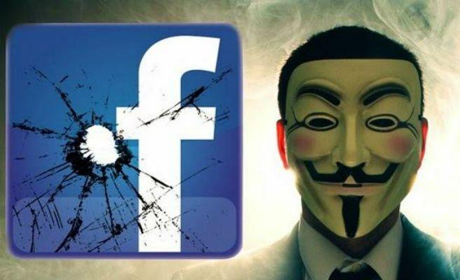 Anonymous amenaza con acabar con Facebook