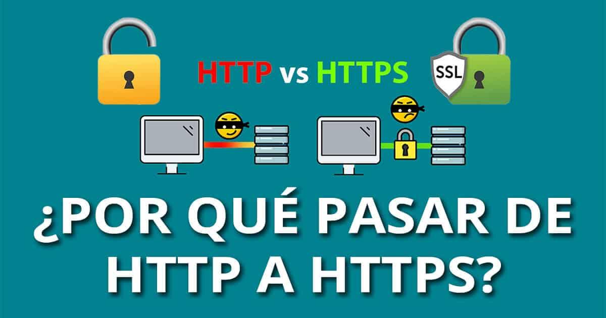 Por que pasar de HTTP a HTTPS