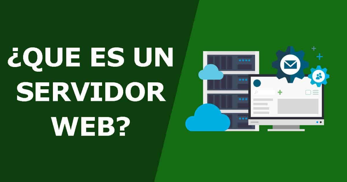 Que es un servidor web